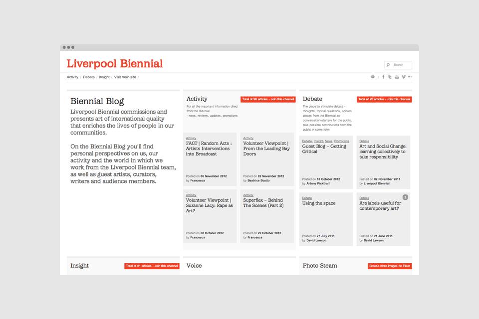 Liverpool Biennial – Blog