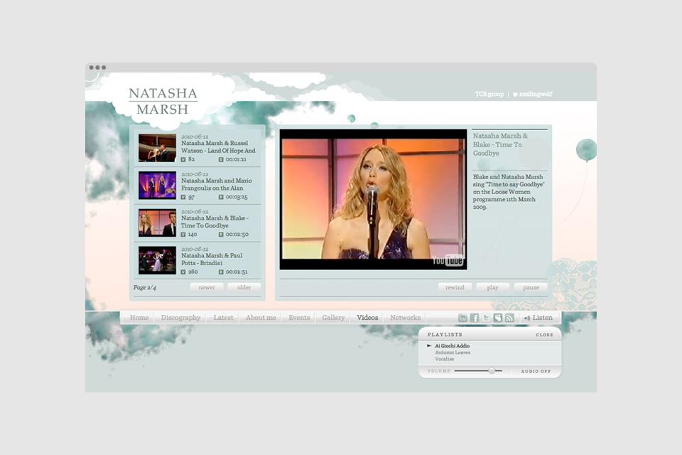 Natasha Marsh – 2010