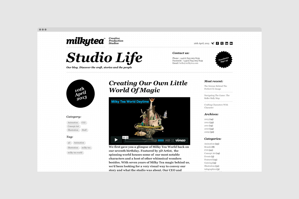 Milkytea – Studio life